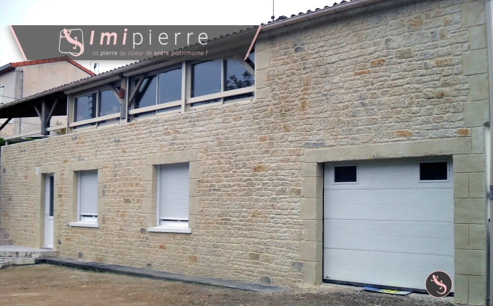 Renovation de facade a saint george les ballargeaux 86